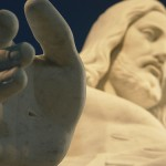 Christus Hand Detail